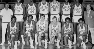 Phoenix Suns equipo que no jugó playoffs