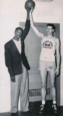 Bill Russell y Swede Halbrook